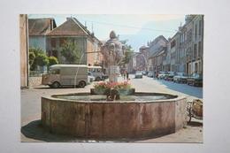 38 : Mens  - Rue  Du Breuil , Au Fond , Le Chatet ( Voitures , Tube Ciroen ) - Mens