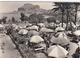 CEFALÙ-PALERMO-LE RESTAURANT-CARTOLINA VERA FOTOGRAFIA- VIAGGIATA IL 18-7-1958 - Palermo