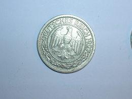 ALEMANIA 50 PFENNIG 1927 J (1247) - 50 Rentenpfennig & 50 Reichspfennig