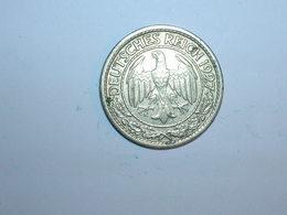 ALEMANIA 50 PFENNIG 1927 J (1248) - 50 Rentenpfennig & 50 Reichspfennig