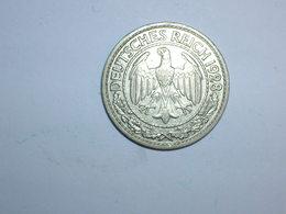 ALEMANIA 50 PFENNIG 1928 A (1250) - 50 Rentenpfennig & 50 Reichspfennig