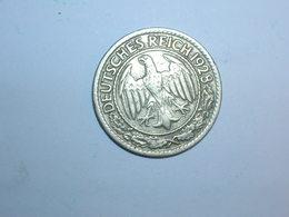 ALEMANIA 50 PFENNIG 1928 D (1251) - 50 Rentenpfennig & 50 Reichspfennig