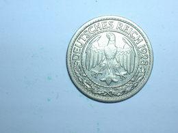 ALEMANIA 50 PFENNIG 1928 G (1254) - 50 Rentenpfennig & 50 Reichspfennig