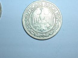 ALEMANIA 50 PFENNIG 1929 A (1256) - 50 Rentenpfennig & 50 Reichspfennig