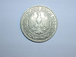 ALEMANIA 50 PFENNIG 1929 D (1257) - 50 Rentenpfennig & 50 Reichspfennig