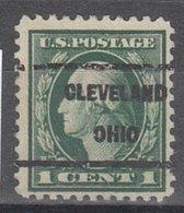 USA Precancel Vorausentwertung Preo, Locals Ohio, Cleveland 1917-209 - Vereinigte Staaten