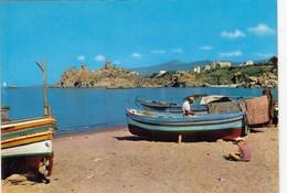 CEFALÙ-PALERMO-PANORAMA E SPIAGGIA-CARTOLINA VERA FOTOGRAFIA-NON VIAGGIATA - Palermo