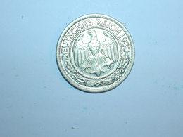 ALEMANIA 50 PFENNIG 1930 D (1259) - 50 Rentenpfennig & 50 Reichspfennig