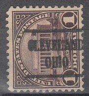 USA Precancel Vorausentwertung Preo, Locals Ohio, Cleveland 571-225 - United States