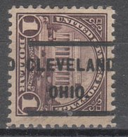 USA Precancel Vorausentwertung Preo, Locals Ohio, Cleveland 571-232 - United States