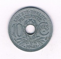 10 CENTIMES 1941  FRANKRIJK /4062/ - Frankreich