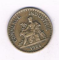 1 FRANC 1924  FRANKRIJK /4064/ - Frankreich