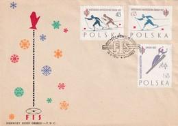 Poland 1962 Cover: Sport FIS Nordic Ski World Championship Zakopane; Cross Country Skiing; Ski Jumping - Wintersport (Sonstige)