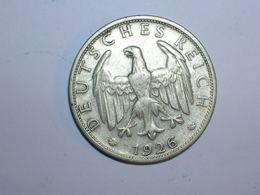 ALEMANIA 2 MARCOS PLATAN1926 D (1275) - [ 3] 1918-1933 : Weimar Republic