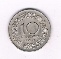 10 GROSCHEN 1928  OOSTENRIJK /4069// - Austria