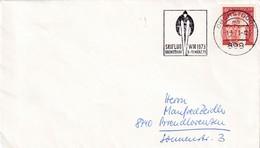 Germany 1973 Cover; Sport Ski Jumping / Flying; WM Oberstdorf; World Championship; Skiflug WM Slogan Cancellation - Wintersport (Sonstige)