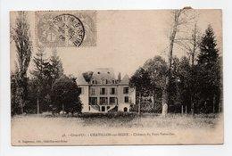- Carte Postale CHATILLON-SUR-SEINE Pour PARIS 29.7.1906 - 5 X 1 C. Gris Type Blanc - - 1900-29 Blanc