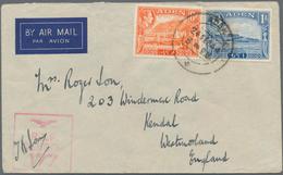 Aden: 1940-45 WWII ADEN CENSOR: 16 Covers From Aden With Various Censor Marks, Censor Stripes Etc., - Yemen