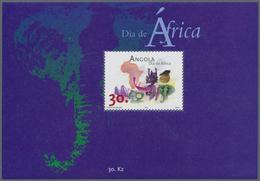 Angola: 2001, AFRICA DAY, Investment Lot Of 1000 Souvenir Sheets MNH (Mi.no. Bl. 93; Cat. Val. 6000, - Angola