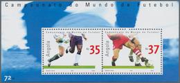 Angola: 2002, FOOTBALL WORLD CHAMPIONSHIP 2002, Investment Lot Of 500 Souvenir Sheets MNH (Mi.no. Bl - Angola