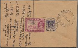 Birma / Burma / Myanmar: 1938-50's Ca.: More Than 700 Covers And Postal Stationery Envelopes, Plus A - Myanmar (Burma 1948-...)