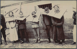 China - Volksrepublik: 1910/95, Large Carton Box With Dealer Stock Of Postal Stationeries, Mostly Mo - 1949 - ... République Populaire