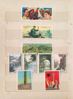 China - Volksrepublik: 1949/85 (ca.), Accumulation Mint/used On Stock Cards Inc. C57 FDC, S/s C47 Us - 1949 - ... République Populaire