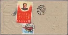 China - Volksrepublik: 1955/75, Covers (20) Mostly Used Foreign. - 1949 - ... République Populaire