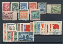 China - Volksrepublik - Provinzen: Northeast China 1949/50, 9 Complete Commemorative Sets Of The Ear - 1949 - ... République Populaire