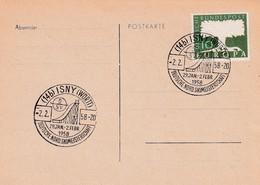 Germany 1958 Card; Sport Ski Jumping National Nordic Championship ISNY; Deutsche Nordische Skimeisterschaft - Wintersport (Sonstige)