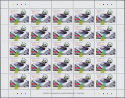 Guinea-Bissau: 2002, WORLD CUP, Complete Set Of Two In Sheets, In An Investment Lot Of 2500 Sets Min - Guinée-Bissau