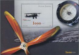 Guinea-Bissau: 2002, AVIATION, Souvenir Sheet, Investment Lot Of 1000 Copies Mint Never Hinged (Mi.n - Guinée-Bissau