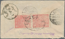 Indien: 1844/1980 (ca.), Assortment Of Apprx. 48 Covers/cards/stationeries, From Some Stampless Lett - India (...-1947)