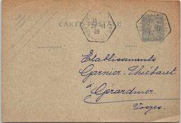 57 SIERSTHAL  - Entiers Postaux  - Année 1929 - France
