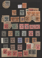 Japanische Besetzung  WK II - Malaya: 1942/1944, Sophisticated Collection Of Apprx. 370 Stamps And 1 - Malaysia (1964-...)