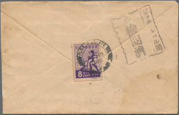 Japanische Besetzung  WK II - Malaya: General Issues, 1943/44, Covers (3) With Commemorative Single - Malaysia (1964-...)