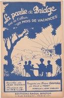 """Vieux Papiers - BRIDGE - """"LA PARTIE DE BRIDGE"""" Partition De Jean Nohain Et Mireille - Vieux Papiers"""
