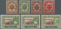 Malaiische Staaten - Kedah: 1922-1957: More Than 600 Unmounted Mint Stamps Plus Four 1922 Malaya-Bor - Kedah