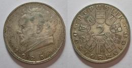 AUSTRIA 2 SCHILLING 1928. SILVER, ARGENT. AUTRICHE - Austria