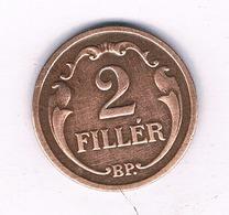 2 FILLER 1934 HONGARIJE /4078/ - Hungary
