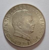 AUSTRIA 2 SCHILLING 1934 Dr. ENGELBERT DOLLFUSS. SILVER, ARGENT. BEL ETAT. AUTRICHE - Austria