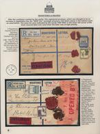 "Palästina: 1927-1948 ""PALESTINE - Stamps & Postal Markings Of Mandate Administration"": Very Speciali - Palestina"