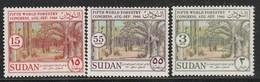 SOUDAN - N°131/3 ** (1960) - Sudan (1954-...)
