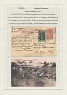 Ruanda-Urundi - Belgische Besetzung Deutsch-Ostafrika: 1916/1918, Remarkable Collection With Ca.20 C - Ruanda-Urundi