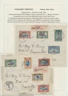Ruanda-Urundi - Belgische Besetzung Deutsch-Ostafrika: 1916/1924, Interesting And Valuable Collectio - Ruanda-Urundi