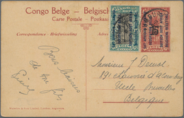 Ruanda-Urundi - Belgische Besetzung Deutsch-Ostafrika: 1918/1920 Ca., Comprehensive Lot With More Th - Ruanda-Urundi