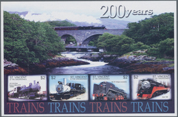 St. Vincent: 2003/2010. Exciting Collection With Imperforate Mint, Nh, Issues, Which Partly To Our K - St.Vincent (1979-...)