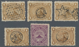 El Salvador: 1867/1965 (ca.), Collection On Self-made Album Pages With A Specialised Part Of The 187 - Salvador