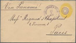 El Salvador - Ganzsachen: 1890, 15 Stationery Envelopes Valuing 5, 10, 11,20,22 Centavos All Used On - Salvador