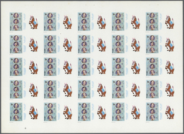 Schardscha / Sharjah: 1972. 32 Progressive Proof Sets, Mostly Consisting Of 5 Or 6 Phases Each, In C - Schardscha